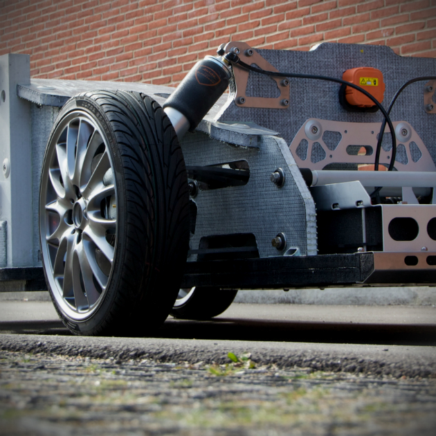 High-tech lightweight-chassis are produced by Danish company - perfect for electric cars