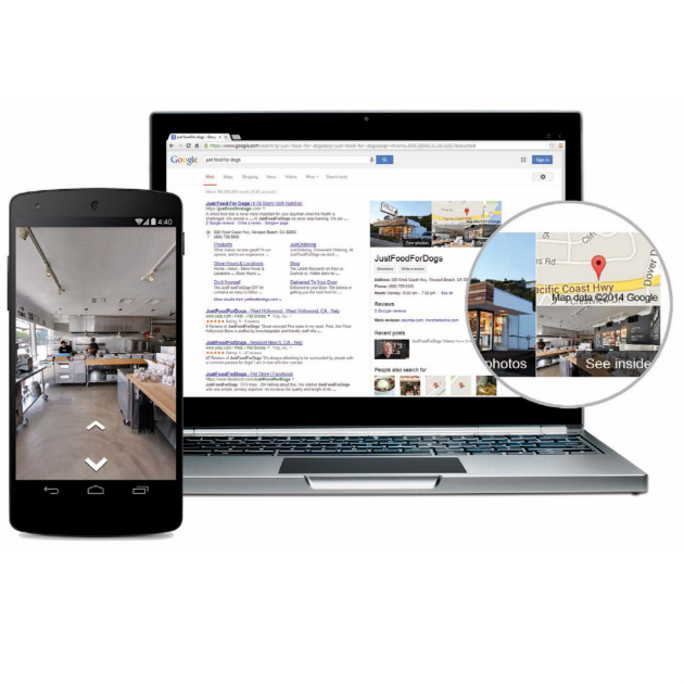 Google business pictures create growth by engaging customers online