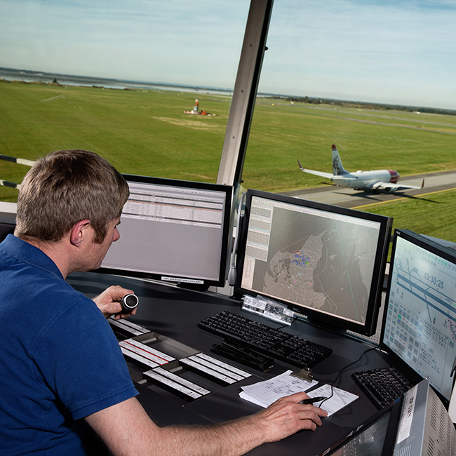 Integrated TWR solution at Aalborg Airport